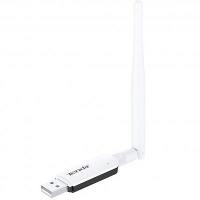 Adaptador usb 2.0 wifi 300mbps 2.4ghz 3.5dbi tenda - Imagen 1