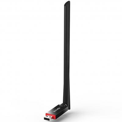 Adaptador usb 2.0 wifi 300mbps 6dbi tenda - Imagen 1