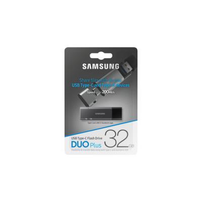 Samsung MUF-32DB unidad flash USB 32 GB USB Tipo C 3.2 Gen 1 (3.1 Gen 1) Negro, Gris - Imagen 12