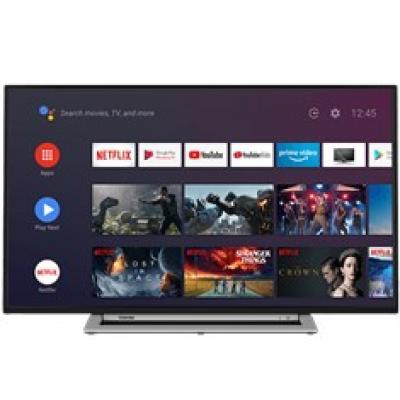 Tv toshiba 32pulgadas full hd -  32la3b63dg -  android - hdmi - usb - dvb - t2 - c - s2 -  bluetooth -   a+ - Imagen 1