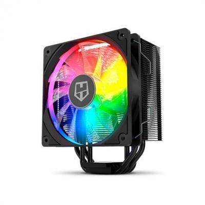 Ventilador cpu nox hummer h - 224 negro argb 156mm altura - compatibilidad multisocket - Imagen 1