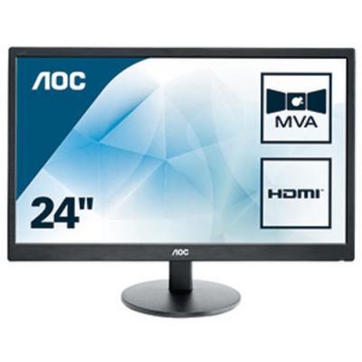 "AOC Basic-line M2470SWH LED display 59,9 cm (23.6"") 1920 x 1080 Pixeles Full HD Negro - Imagen 1"