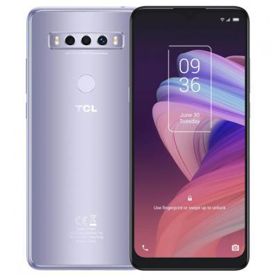 Telefono movil smartphone tcl 10se silver 6.52 pulgadas -  128gb rom -  4gb ram -   48+5+2 mpx -  8mpx -  hd+ -  4g - Imagen 1