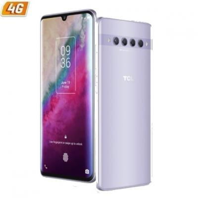 Telefono movil smartphone tcl 10 plus starlight silver 6.47pulgadas -  64gb rom -  6gb ram -  nxtvision -  fhd+ amoled -  video