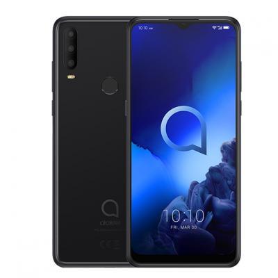 Telefono movil smartphone alcatel 3x jewelry black - 6.52pulgadas -  octa core -  128gb rom -  6gb ram -  48+5+2+2mpx - 16mpx -