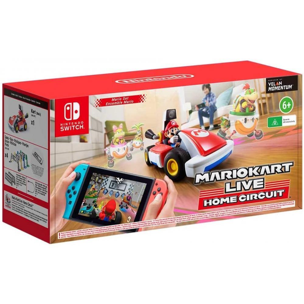 Juego nintendo switch -  mario kart live: home circuit (mario) - Imagen 1