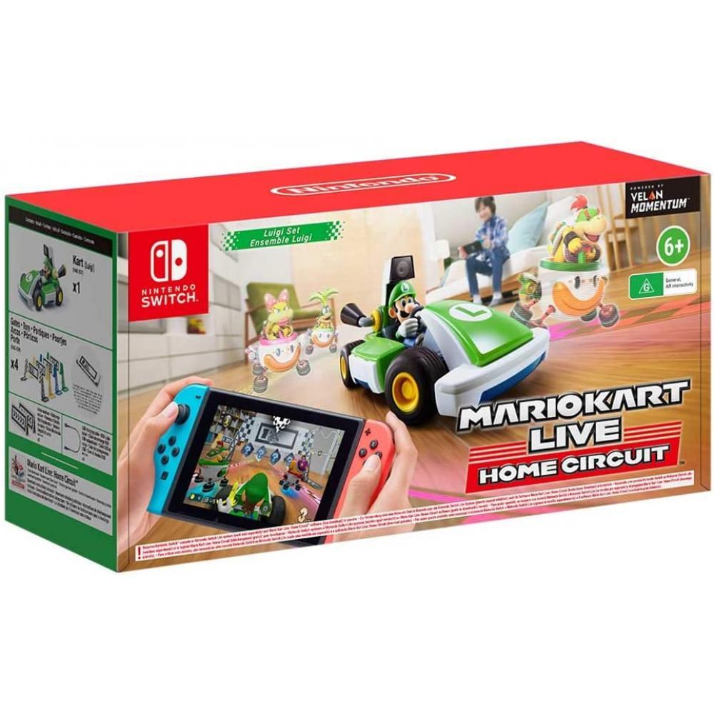 Juego nintendo switch -  mario kart live: home circuit (luigi) - Imagen 1