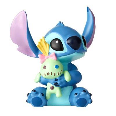Figura enesco disney lilo & stitch stitch con muñeca - Imagen 1