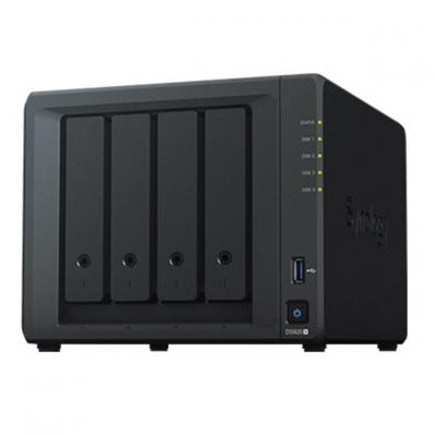 Servidor nas synology disk station ds920+ 4gb 4 bahias  raid  ethernet gigabit - Imagen 1