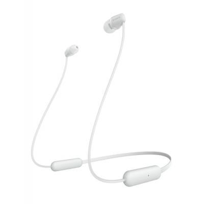 Sony WI-C200 Auriculares Dentro de oído, Banda para cuello Blanco - Imagen 1