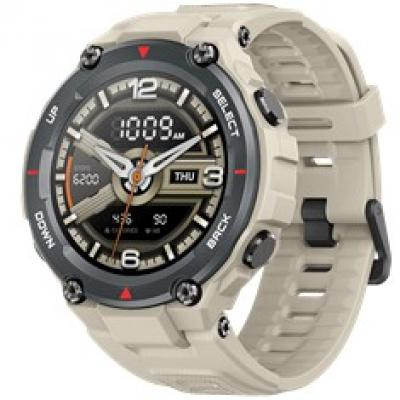 Pulsera reloj deportiva xiaomi amazfit t - rex khaki -  smartwatch -  amoled 1.3pulgadas -   bluetooth - Imagen 1