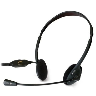 NGS MS103 auricular y casco Auriculares Diadema Negro - Imagen 1