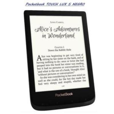 Pocketbook touch lux 5 6pulgadas 8gb ink negro - Imagen 1