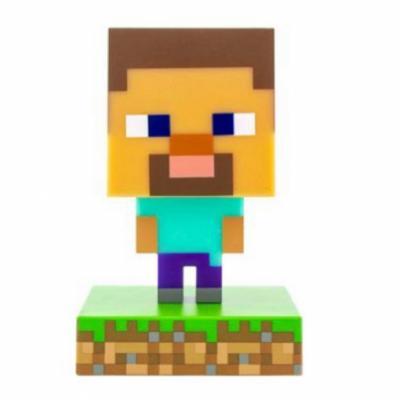Lampara paladone icon minecraft steve - Imagen 1