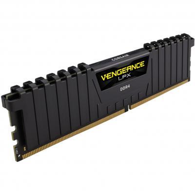 Memoria ddr4 16gb corsair vengeance -  pc4 - 25600 -  3200mhz -  c16 - Imagen 1