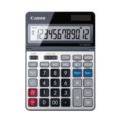 Calculadora canon sobremesa ts - 1200 dbl - Imagen 1