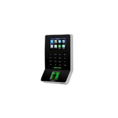 Terminal control de presencia zk teco zk - f22mf teclado - huella - tarjeta em rfid - usb - teclado tcp ip - 80.000 registros -