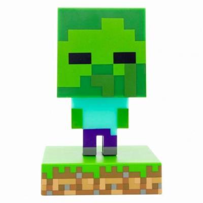 Lampara paladone icon minecraft zombie - Imagen 1