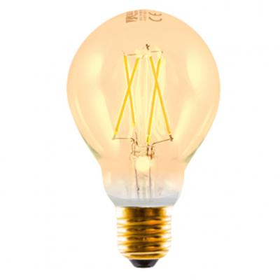Bombilla led silver electronic filamento edison estandar 3w=20w -  e27 -  2.200k -  320º -  300 lm -  luz extra calida -  a++ -