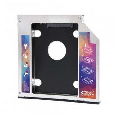 Adaptador disco duro nanocable de 9.5mm para unidad óptica portátil de 12.7mm - Imagen 1