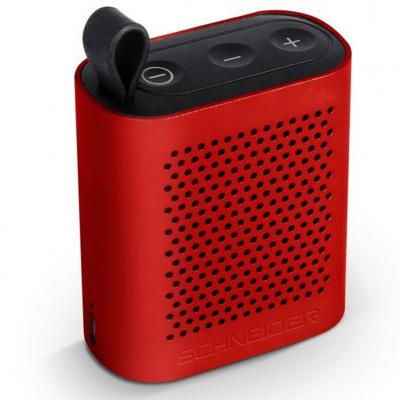 Altavoz bluetooth schneider groove micro rojo - Imagen 1