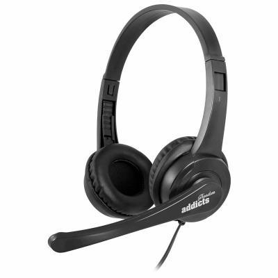 Auriculares diadema con microfono ngs vox505usb usb negro - Imagen 1