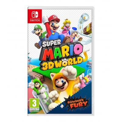 Juego nintendo switch -  super mario 3d world + bowsers fury - Imagen 1