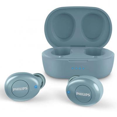 Auriculares philips tat2205bl - 00 azul - intrauditivos -  inalambricos - Imagen 1