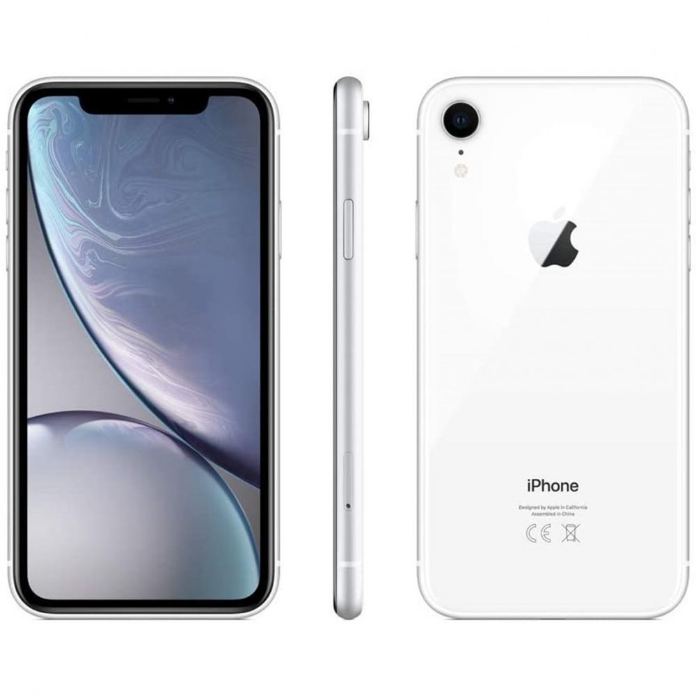 Telefono movil smartphone reware apple iphone xr 128gb white 6.1pulgadas reacondicionado - refurbish - grado a+ - Imagen 1
