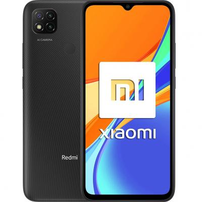 Elefono movil smartphone xiaomi redmi 9c gris medianoche 6.53pulgadas -  64gb rom -  3 gb  ram -  13+2+2mpx - 5mpx -  nfc -  500