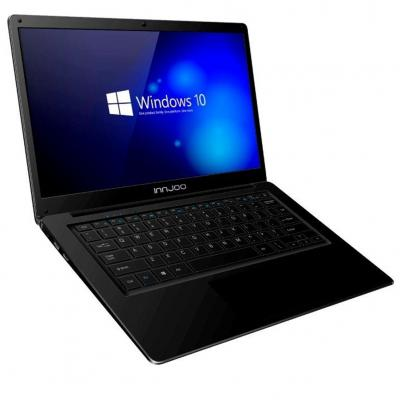 Portatil innjoo voom laptop pro  14.1pulgadas 6gb - 128gb - celeron n3350 -  wifi  - w10 - negro - Imagen 1