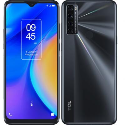 Telefono movil smartphone tcl 20 se nuit black 6.82pulgadas - 64 gb rom -  4gb ram -  16+5+2+2 mpx -  5000 mah -  huella - Image