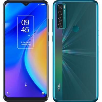 Telefono movil smartphone tcl 20 se aurora green 6.82pulgadas - 64 gb rom -  4gb ram -  16+5+2+2 mpx -  5000 mah -  huella - Ima