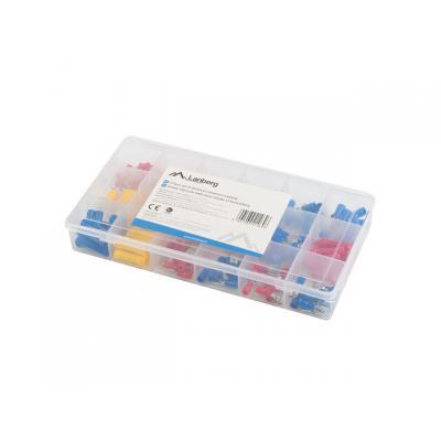 Caja herramientas lanberg 175 terminales electricos 1.25 a 4mm - Imagen 1