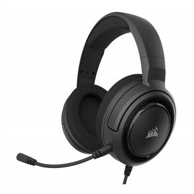 Auriculares con microfono corsair hs25 carbon gaming jack - Imagen 1