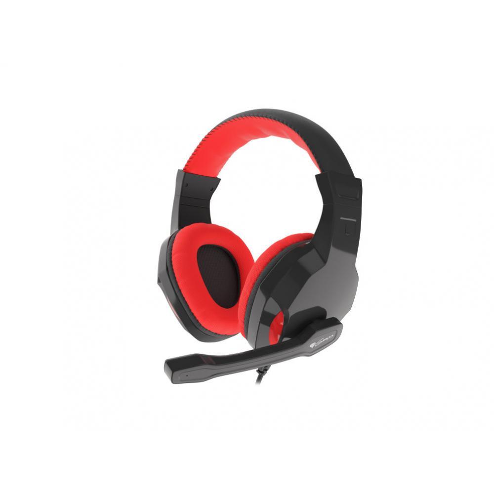 Auriculares gaming genesis argon 100 rojos - Imagen 1