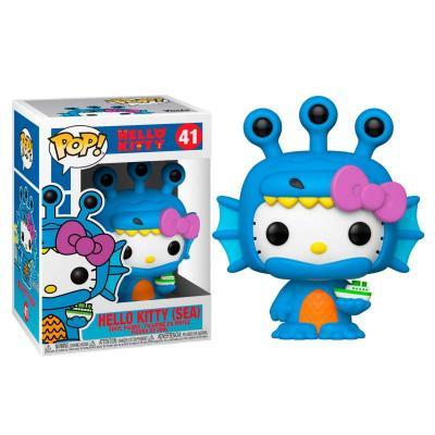 Funko pop hello kitty hello kitty sea kaiju monstruo acuatico kawai 49833 - Imagen 1