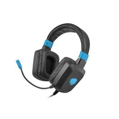Auriculares gaming fury raptor rgb negro - azul - Imagen 1