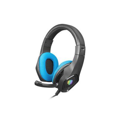 Auriculares gaming fury phantom negro - azul - Imagen 1