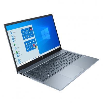 Portatil hp 15 - eg0001ns i7 - 1165g7 15.6pulgadas 8gb -  ssd512gb -  gf mx450 2gb -  wifi -  bt -  w10 -  azul niebla - Imagen