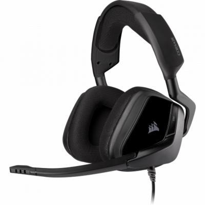 Auriculares con microfono corsair void elite surround carbon gaming usb - Imagen 1