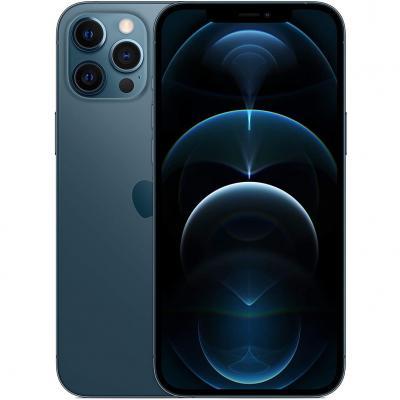 Apple iphone 12 pro max 128gb pacific blue sin cargador - sin auriculares - a14 bionic - 12mpx - 6.7 mgda3ql - a - Imagen 1