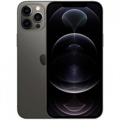 Apple iphone 12 pro max 256gb graphite sin cargador - sin auriculares - a14 bionic - 12mpx - 6.7 mgdc3ql - a - Imagen 1