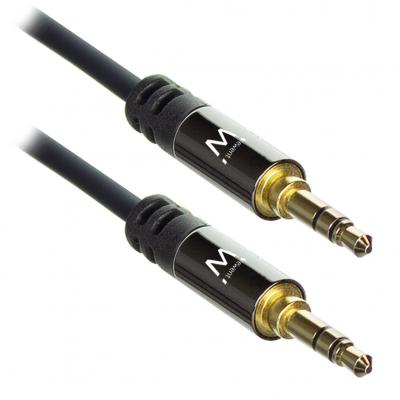 Cable de audio ewent jack 3.5mm macho a jack 3.5mm macho 1.5m - Imagen 1