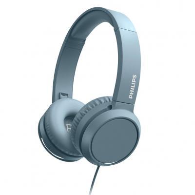 Auriculares philips tah4105bl - 00 azul - diadema -  microfono - Imagen 1