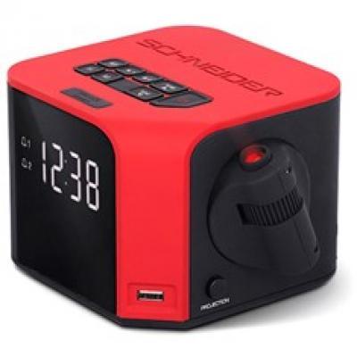 Radio despertador schneider luna rojo -  proyeccion en el techo - Imagen 1
