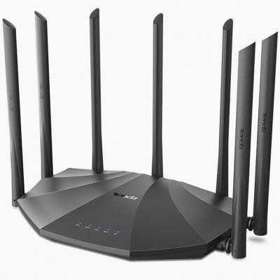 Router wifi ac23 dual band ac2100 1733mbps 3 puertos lan 1 puerto lan tenda - Imagen 1