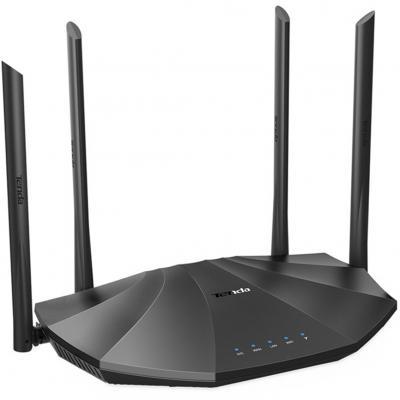 Router wifi ac19 dual band ac2100 1733mbps 4 puertos lan 1 puerto wan tenda - Imagen 1