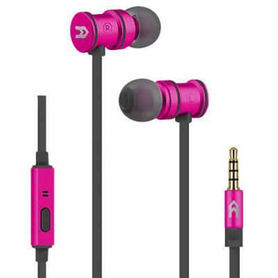 Auricular avenzo intraural imantado con microfono rosa - Imagen 1