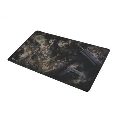 Alfombrilla gaming genesis carbon 500 maxi 900x450mm camuflaje - Imagen 1